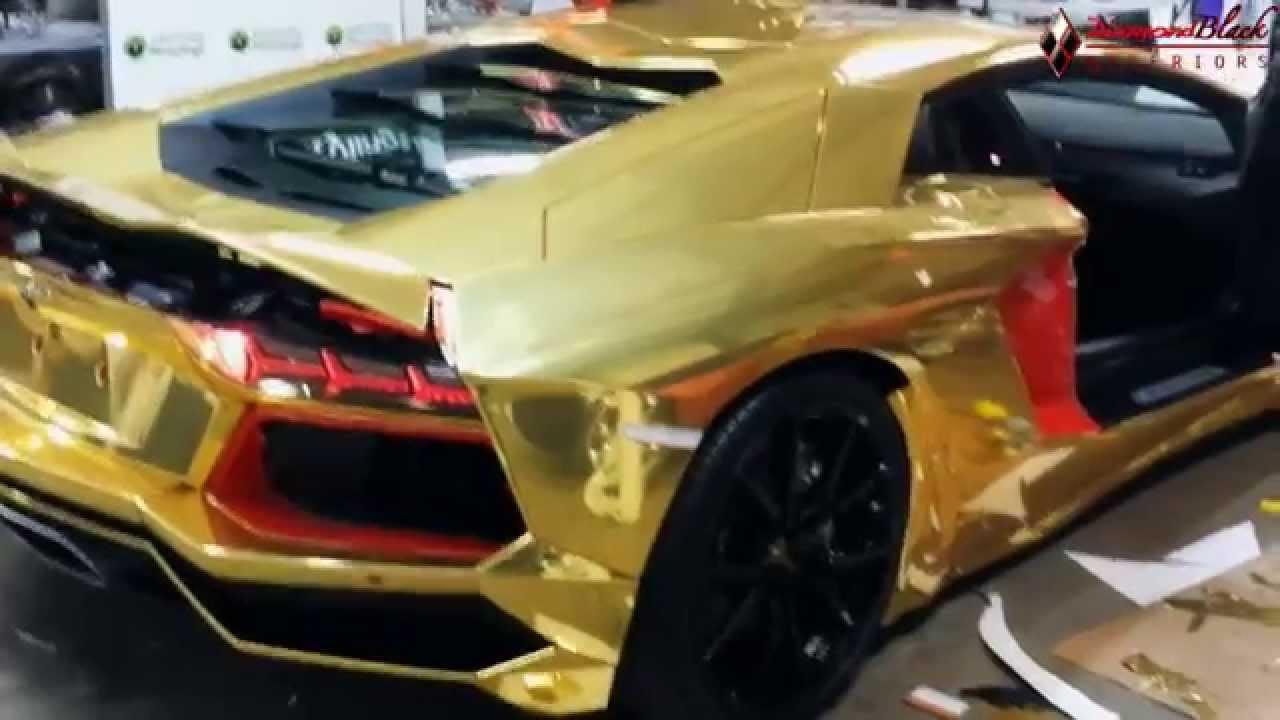 Silver And Gold Chrome Lamborghini on silver and orange lamborghini murcielago, silver car in saudi, silver matte aventador,