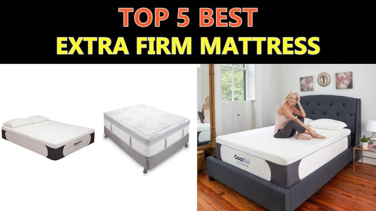 Best Extra Firm Mattress 2018
