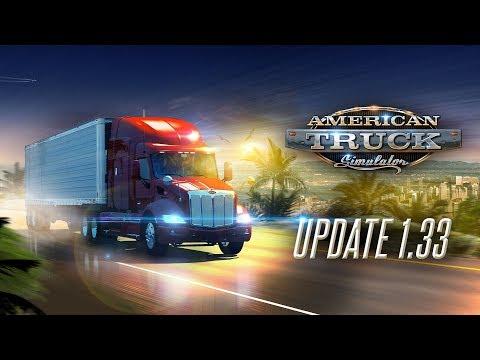 Changelog for ATS Update 1.33