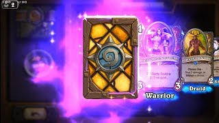 Pyroblast + Keeper of the Grove + Ancestral Spirit - Classic Hearthstone epic and rare card pack ope
