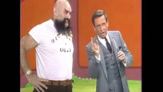 "Ox Baker on ""The Price is Right"" with Bob Barker (1981)"