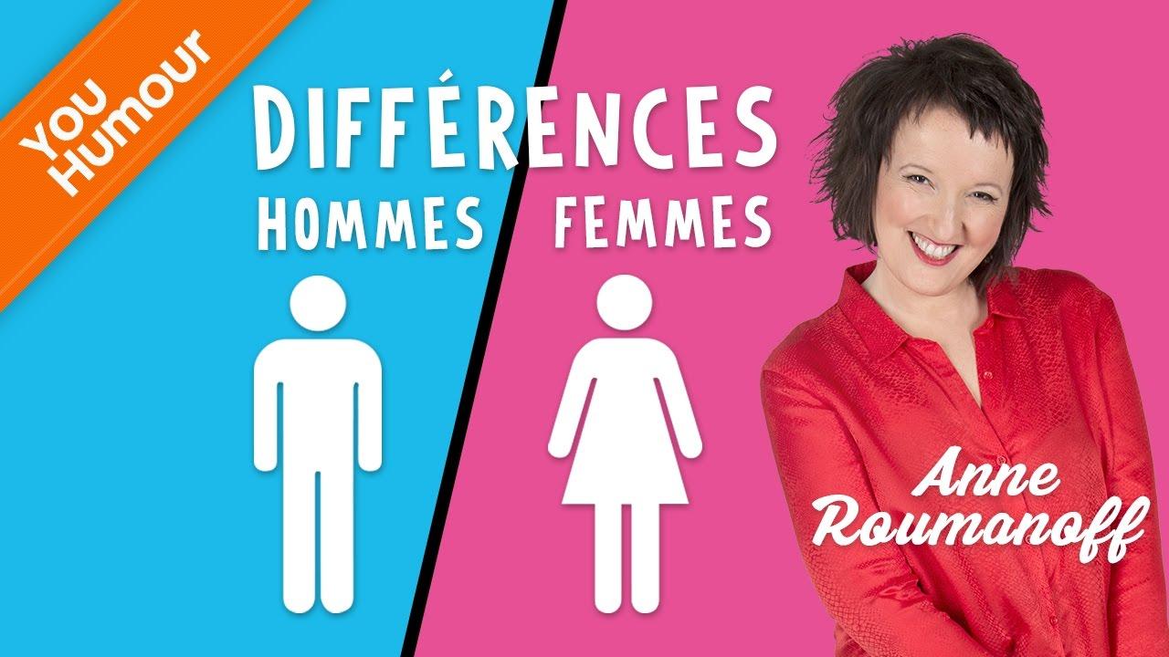 Anne Roumanoff Différences Hommes Femmes
