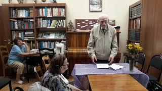 Поэтическая. встреча с Н.А.Филатовым в Ашукинской библиотеке, часть 1.
