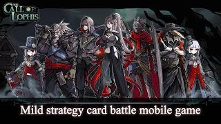 Dark Dungeon Survival: Lophis Fate Card Roguelike Gameplay | Android 1080 HD