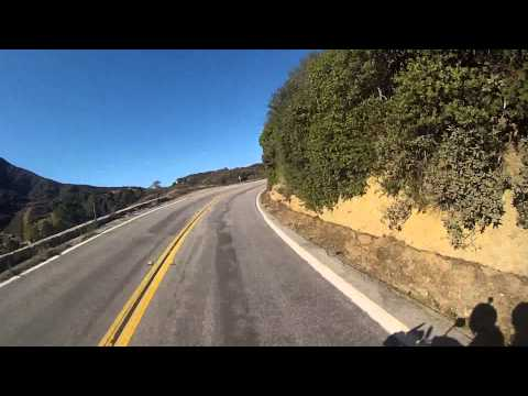 SoCalBikerRoads Santa Clarita Loop 1of4 A to B Little Tujunga Sand Canyon Bouquet Canyon