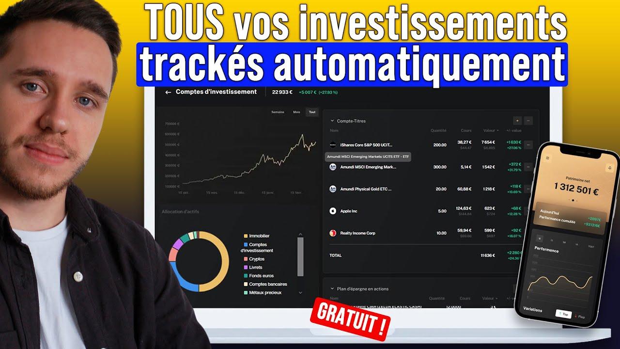 Download Suivre tous ses investissements et gains (GRATUIT) - Bourse, Dividendes, Crypto, Immo, ...