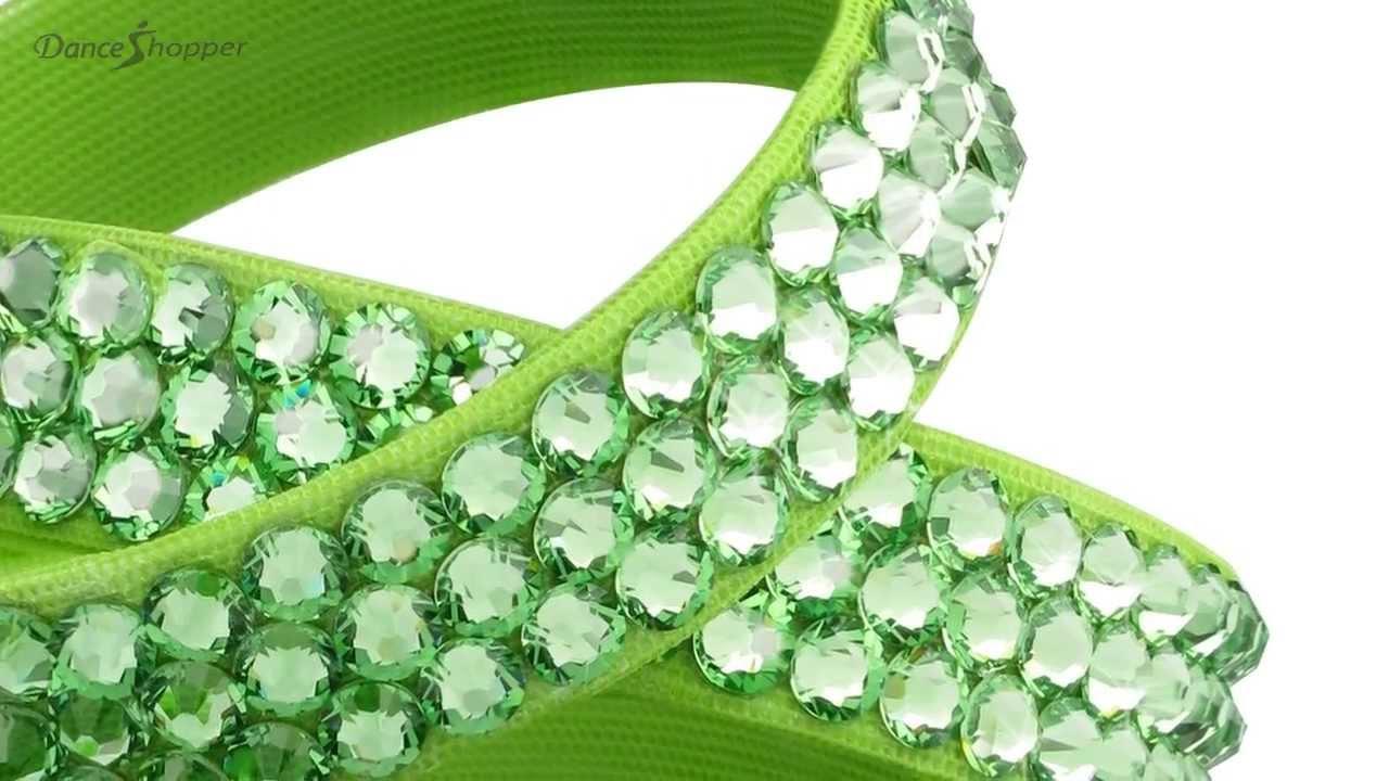 Dance Jewelry  Besparkled 3 Row Rhinestone Bracelet Collection