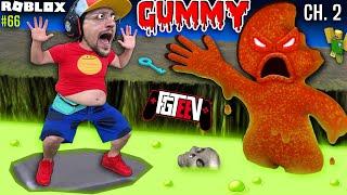Escape Roblox GUMMY Chapter 2 & Avoid Lava GOO! (FGTeeV Gamer Brat Takes Over #66)