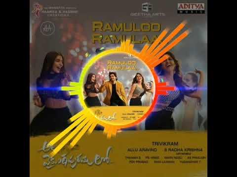 Ramuloo Ramulaa  Ala Vaikunthapuramulo  Anurag Kulkarni, Mangli  Songs Visualizer