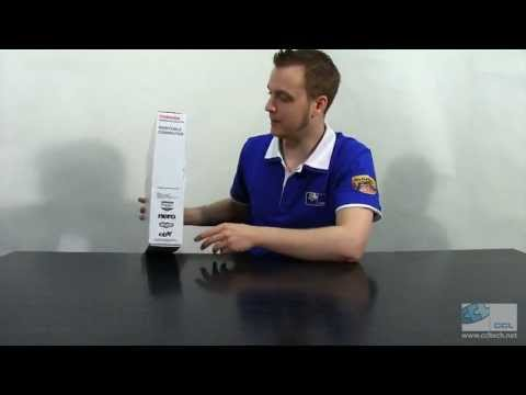 Toshiba C850-1HE Laptop / Notebook Unboxing and Overview
