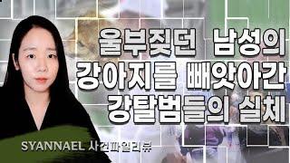 (사건파일리뷰) 울부짖던 한 남자의 강아지를 빼앗은 강탈범들의 실체 | 너사세 | 샨나엘