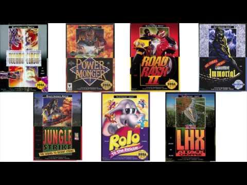Examining EA's Sega Genesis Covers- Last Call Games