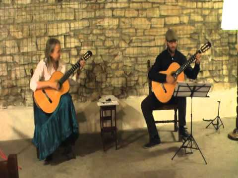 Concert for two guitars: Spanish folk song