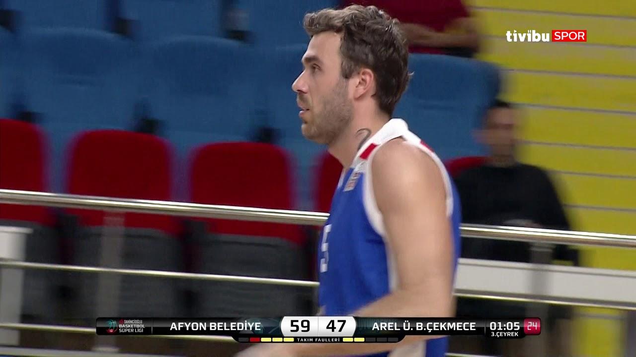 Maç Özeti:Afyon Belediyespor - Arel Üni.Büyükçekmece Basketbol