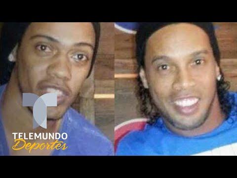 El doble de Ronaldinho 'le salva la vida' en una entrevista   Telemundo Deportes