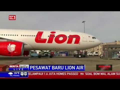 Lion Air Terima 3 Unit Airbus A330
