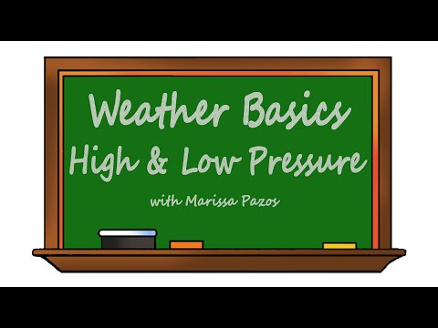 Weather Basics - High and Low Pressure