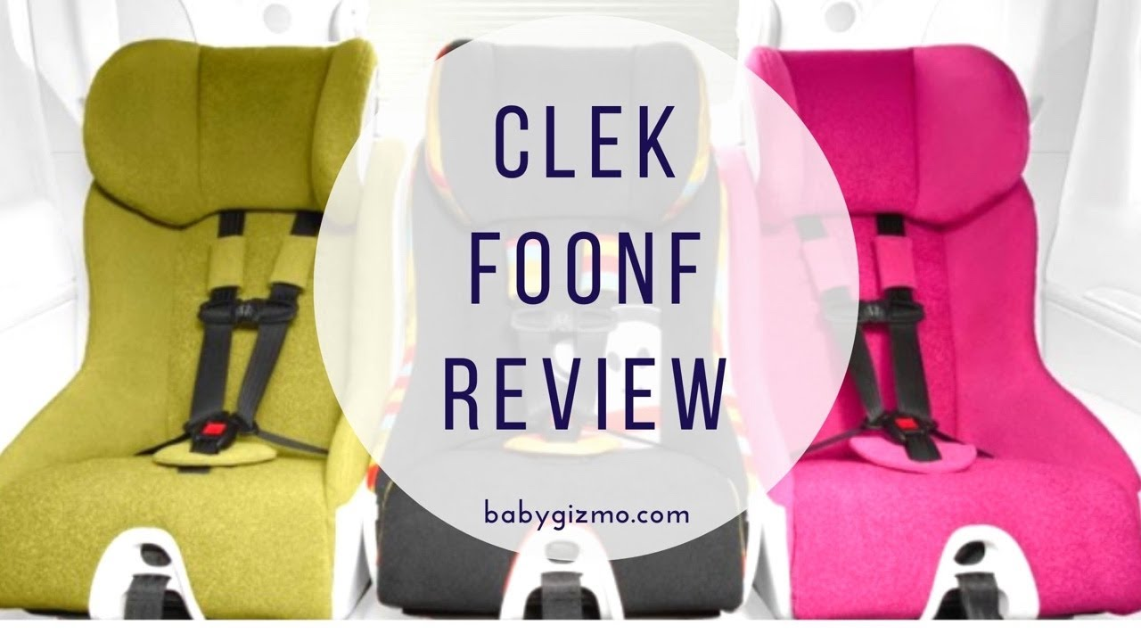 clek foonf convertible car seat review baby gizmo youtube. Black Bedroom Furniture Sets. Home Design Ideas