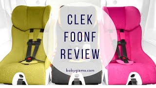 Clek Foonf Convertible Car Seat Review - Baby Gizmo