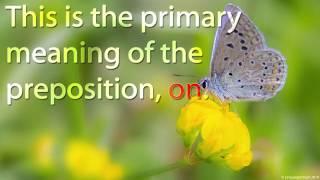 Preposition - On | Learn English | Interesting English