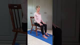 Chair Yoga stretches