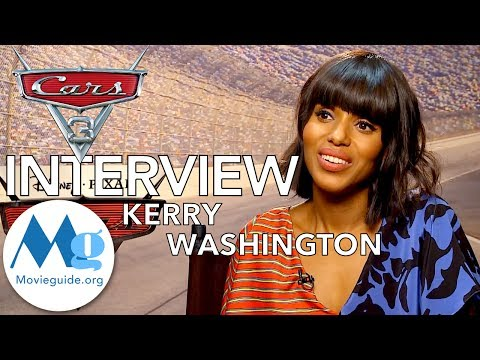 CARS 3 Interview featuring: KERRY WASHINGTON