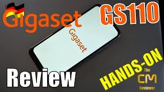 Gigaset GS110 Test: 6.1'' Smartphone Triple Tray removable 3...