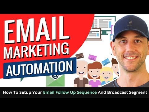 Aweber Email Marketing Automation - How To Setup Your Email Follow Up Sequence And Broadcast Segment