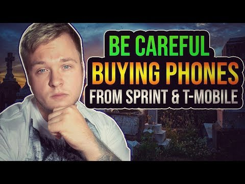 Be Careful Buying Phones From Sprint & Tmobile