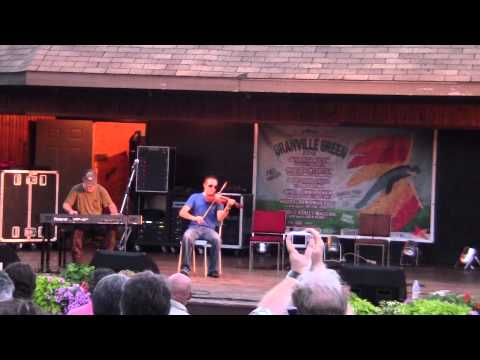 Robbie Fraser (fiddle), Ashley MacIsaac (piano) - Granville Green 2012 - Buddy Tunes
