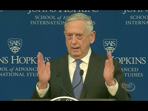 Mattis Slams Congress Over Potential Shutdown - Full Speech