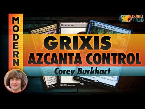 Channel Corey - Modern Grixis Control (Deck Tech & Matches)