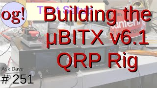 I build the new version 6.1 uBITX HF QRP SSB/CW transceiver fromm www.hfsigs.com in India. For an extra US$50, they include a case, another extra US$10 to ...