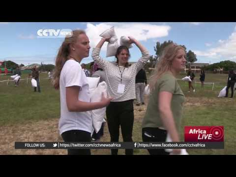 Great Pillow Fight: Cape Town finds unusual way to build social upliftment