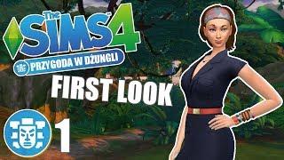⭐️ First Look: THE SIMS 4: PRZYGODA W DŻUNGLI #1 NOWE RZECZY!