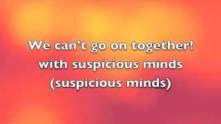 Suspicious Minds Elvis Presley (Viva Elvis)