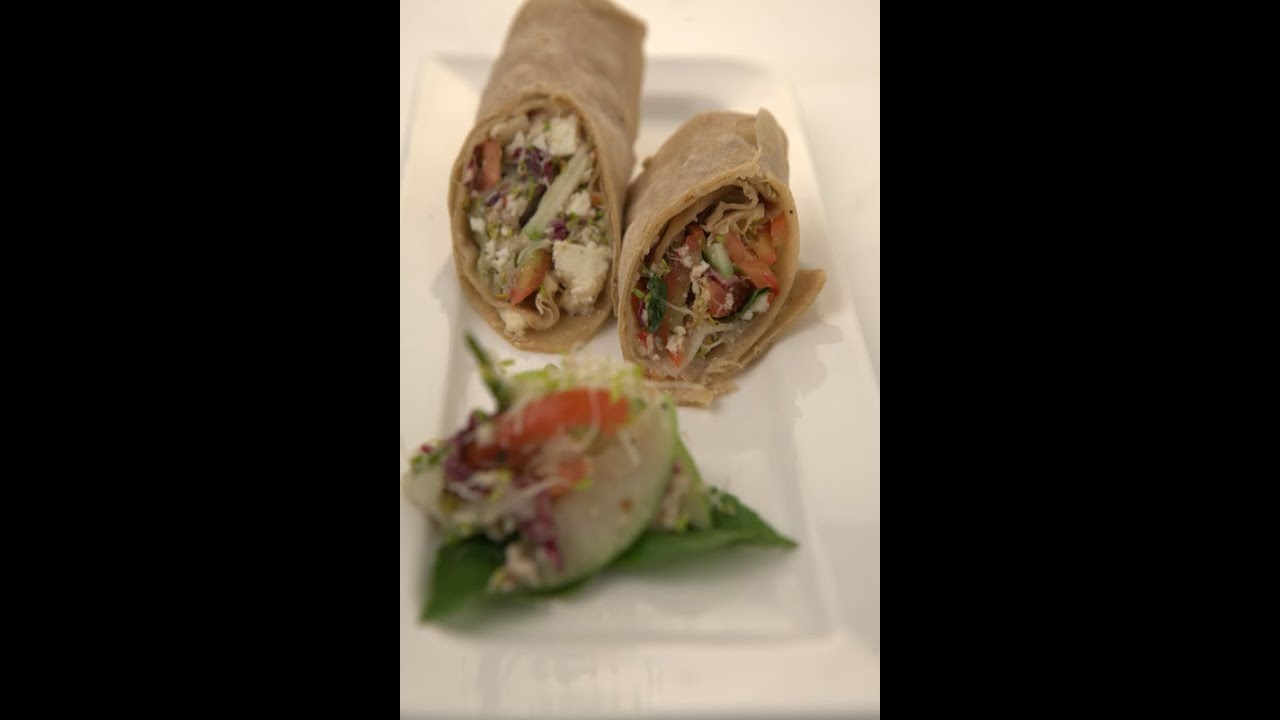 Fat Free  Paneer Wrap - Be Fit Be Cool - AAPI   VahRehVah