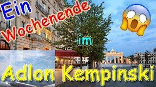 😱 KOSTENLOS im ADLON KEMPINSKI BERLIN 😱 l Vlog l That