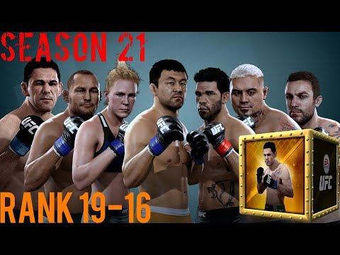EA SPORTS UFC Mobile - H2H Season 21 Rank 19 - 16 Reward Opening!