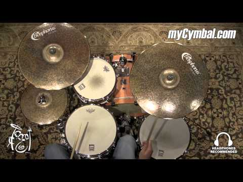 "Bosphorus 22"" Turk Thin Ride Cymbal - 2441g (K22RT-1061515FF)"