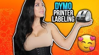 Dymo Printer Labeling Amazon Products With FNSKU and UPC Barcodes