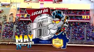 May 25th-27th, 2017-25th Annual Lucas Oil Show-Me 100 Presented by ProtectTheHarvest.com