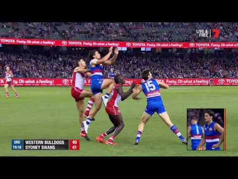 Round Two AFL - Western Bulldogs v Sydney Highlights
