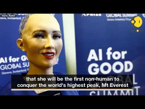 World's first humanoid citizen Sophia says, will scale Everest
