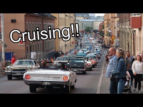 Norrköping Cruising Kungsgatan 2017 - Vlogg 046