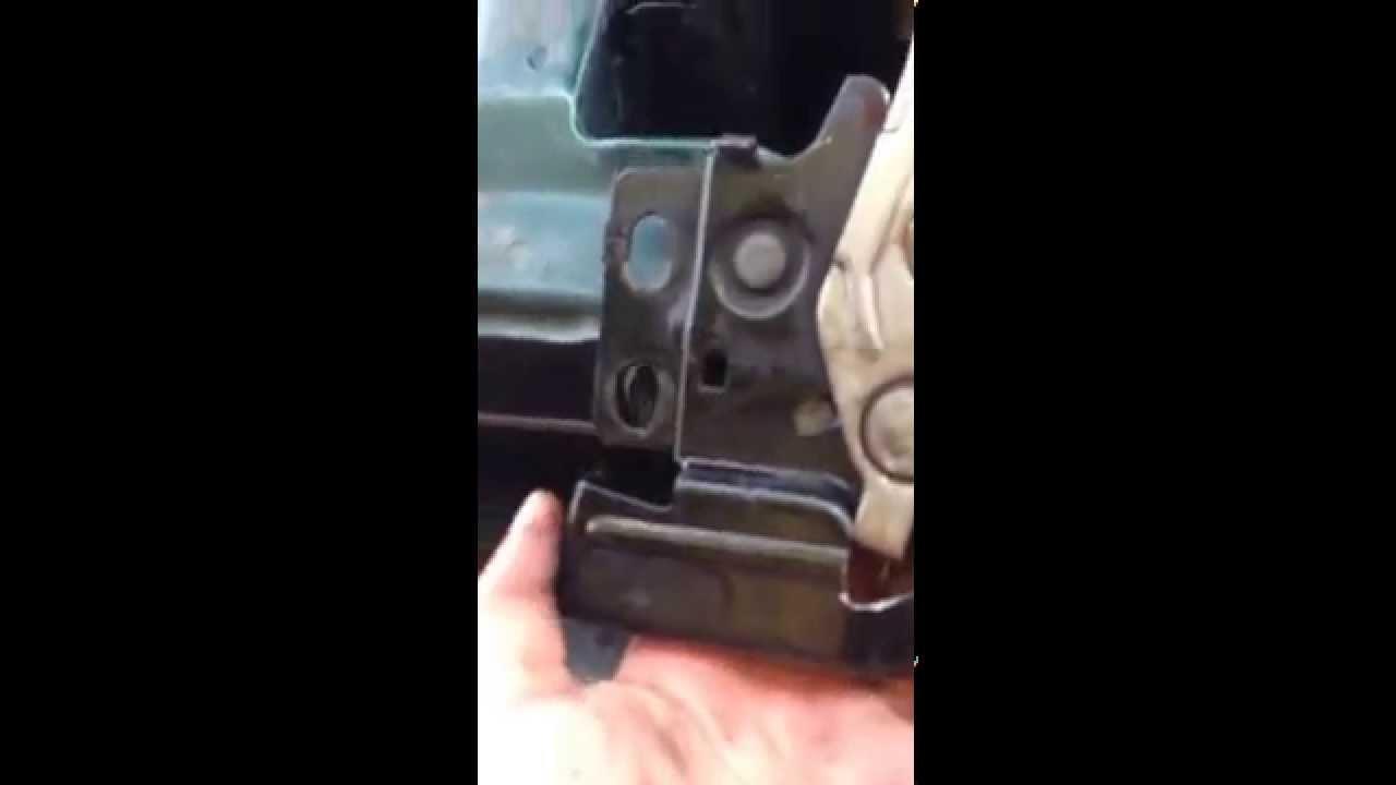 99 Honda Civic Hood Latch Stuck Fix Youtube