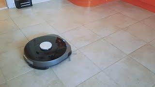 Обзор робот пылесос Wolkinz COSMO влажная уборка в кухне. Wolkinz Cosmo купить умный робот-пылесос