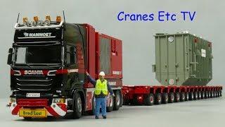 IMC Mammoet Scania + K25 + TPA PPU + Transformer by Cranes Etc TV