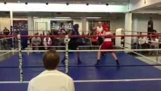 Nyrkkeily C-juniorit: Carl - Max Erä 1 (6.4.2013)