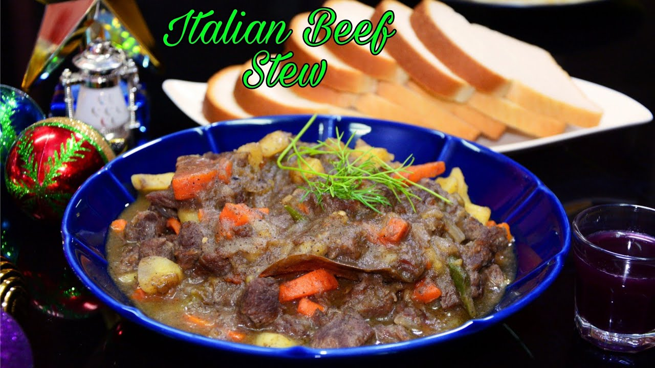 Download Italian Beef Stew Recipe/SpezzatinoDi Manzo Italiano/Very Delicious SLOW COOKED Beef Stew #beefstew
